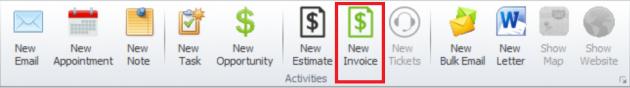 Creating Invoice 1