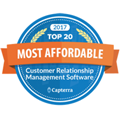 Top 20 Most Affordable Award